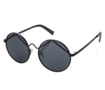 Runde Sonnenbrille 'Wild Child' schwarz