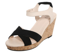 Sandalette 'Alec L' beige