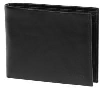 Apache Geldbörse Leder 12cm schwarz