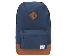 'Heritage Mid Volume Backpack' Rucksack 40 cm enzian / rostbraun