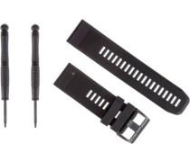 'QuickFit 26' Uhrband schwarz