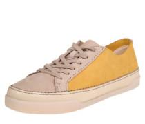 Sneaker 'Hidi Holly' beige / dunkelgelb