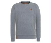 Sweatshirt 'Cevapcici Günther Iii' grau / schwarz