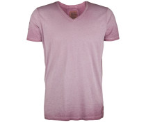 T-Shirt V-Neck Club mauve