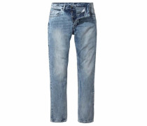 Straight-Jeans 'Carlos' blue denim
