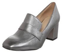 Loafer mit Blockabsatz 'Emmaline' silbergrau