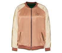 Wende-Blouson curry / rosé