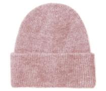 Woll Mütze altrosa