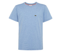 T-Shirt mit Marken-Emblem rauchblau