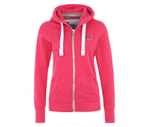 Sweatjacke 'Orange Label Primary' pink