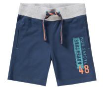 Sweatshorts für Jungen UV-Schutz 30+ blau