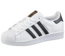 Superstar Sneaker schwarz / weiß