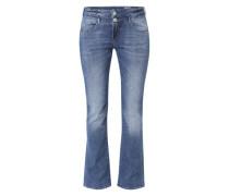 'Baby Boot' Jeans im Bootcut blue denim