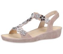 Sandalen mischfarben / taupe