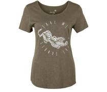 T-Shirt 'tiger Slub' grün