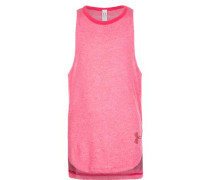 HeatGear Threadborne Play Up Trainingstank Kinder pink