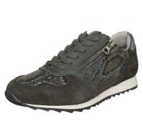 Sneaker mit Reißverschluss grau