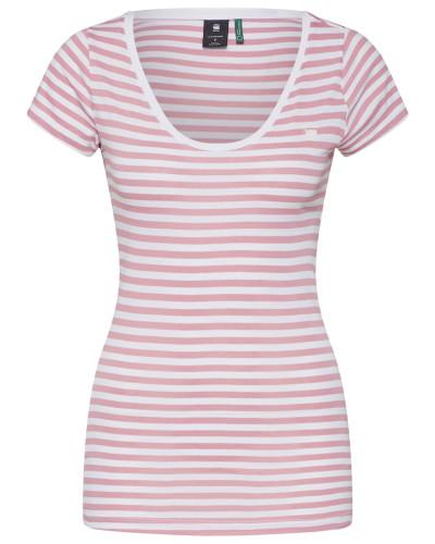 Shirt altrosa / weiß