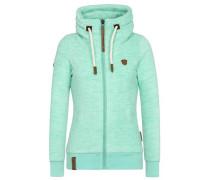 Female Zipped Jacket 'Redefreiheit? Iii' grün