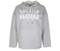 Kapuzensweatshirt 'portman Tiger Weather' grau