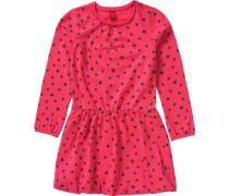 Kinder Jerseykleid blau / pink