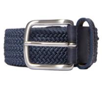 elastischer Flecht-Gürtel 'Chapper 35' dunkelgrau