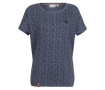 T-Shirt 'Herzchen' blau