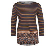 Esprit Collection Longsleeve im Ringel-Look navy