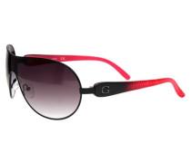 Sonnenbrille Schwarz Guf212-Blk-35 pink / schwarz