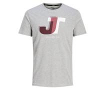 Sportliches T-Shirt grau