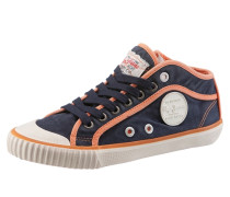 Boots marine / orange