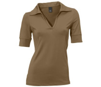 Blusenshirt beige / braun