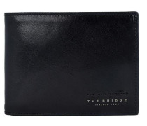 Fitzroy Geldbörse Leder 13 cm schwarz