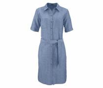 Hemdblusenkleid blue denim