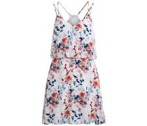 Gemustertes Träger-Kleid mischfarben