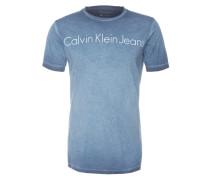 T-Shirt 'Tomer' blau