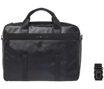 Tasche 'TH Coated Computer Bag' schwarz