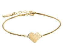 Armband 'Herz' gold