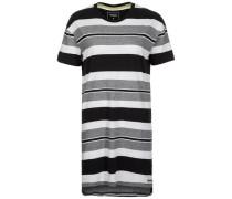 Longshirt graumeliert / schwarz / weiß