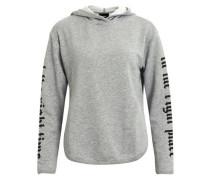 Hoodie-Pullover 'objacacia' grau
