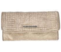 Cut it Vintage Dimly Wallet Geldbörse Leder 20 cm beige
