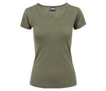 Basicshirt oliv