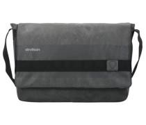 Finchley Messenger Tasche 38 cm rauchgrau / dunkelgrau / schwarz