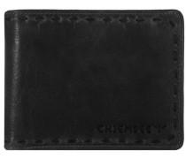 J88 Geldbörse Leder 13 cm schwarz