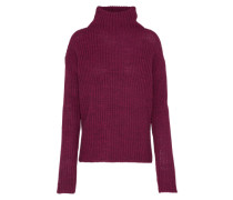 Pullover 'Turtle Neck' lila