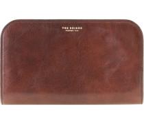 Jade Geldbörse Herrentasche Leder 24 cm sepia