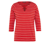 Jersey-Tunika rot / weiß
