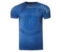 Cooles T-Shirt mit Knopfleiste