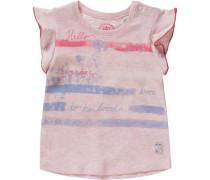 Baby T-Shirt für Mädchen blau / pink / rosa / weiß