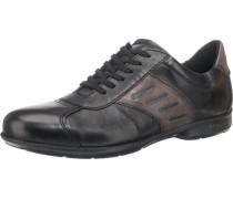'Basil' Freizeit Schuhe braun / schwarz